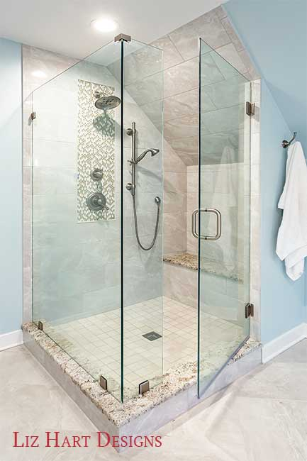Master Bathroom Shower